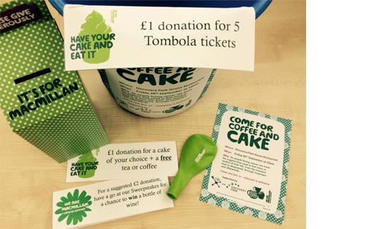 TRN Team raise £327.80 for Macmillan Cancer Support!