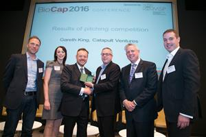 The Research Network win BioCap 2016 Pitching Competition